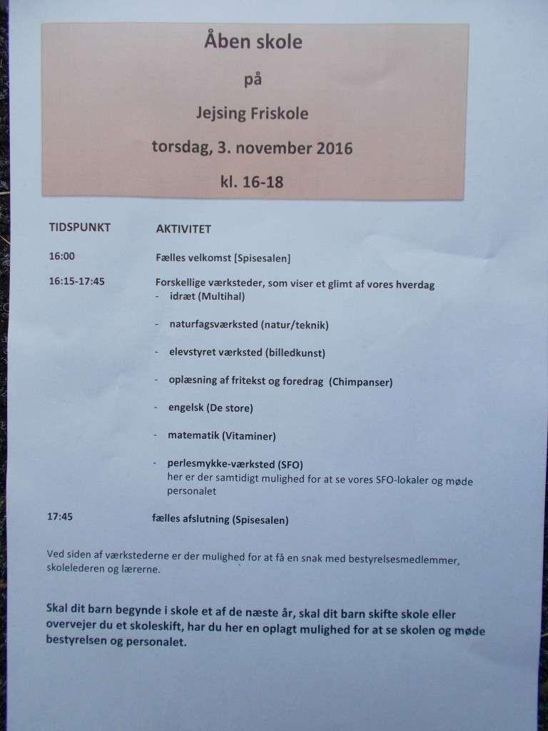 Åben Skole 2016